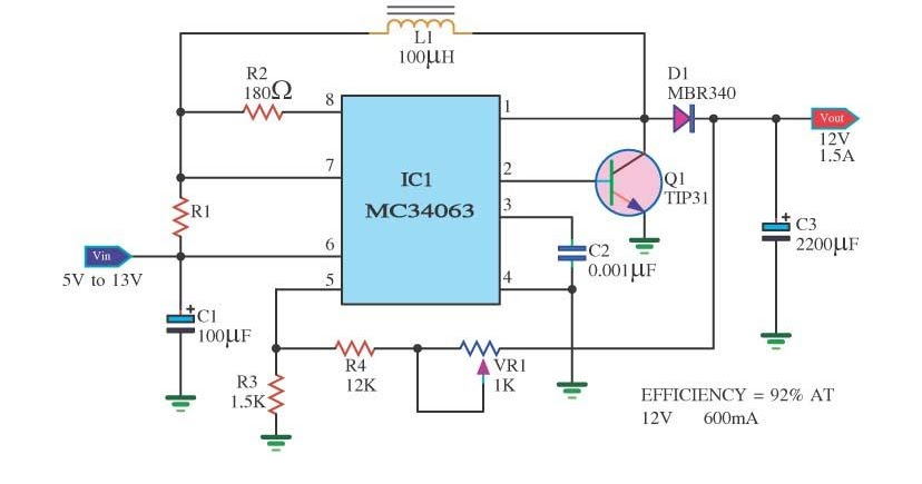 Mc on Stereo Amplifier Circuit Diagram