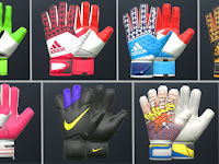 PES 2016 Goalkeeper Gloves Pack V2