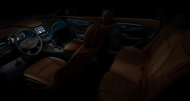 Chevrolet Impala 2013 interior glow