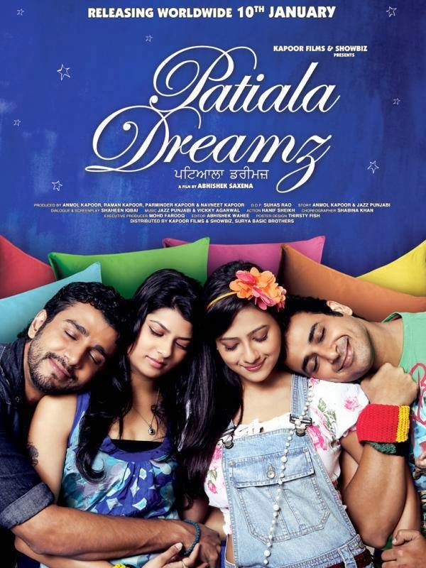 Watch Patiala Dreamz (2014) Punjabi Hindi DVDScr Full Movie Watch Online For Free Download