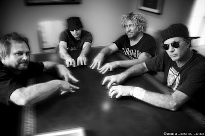 Joe Satriani, Chickenfoot 2013, Chad Smith, Sammy Hagar