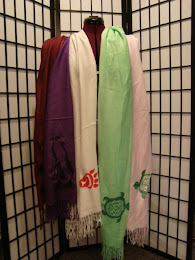 Screen Printed Pashmina Scaves