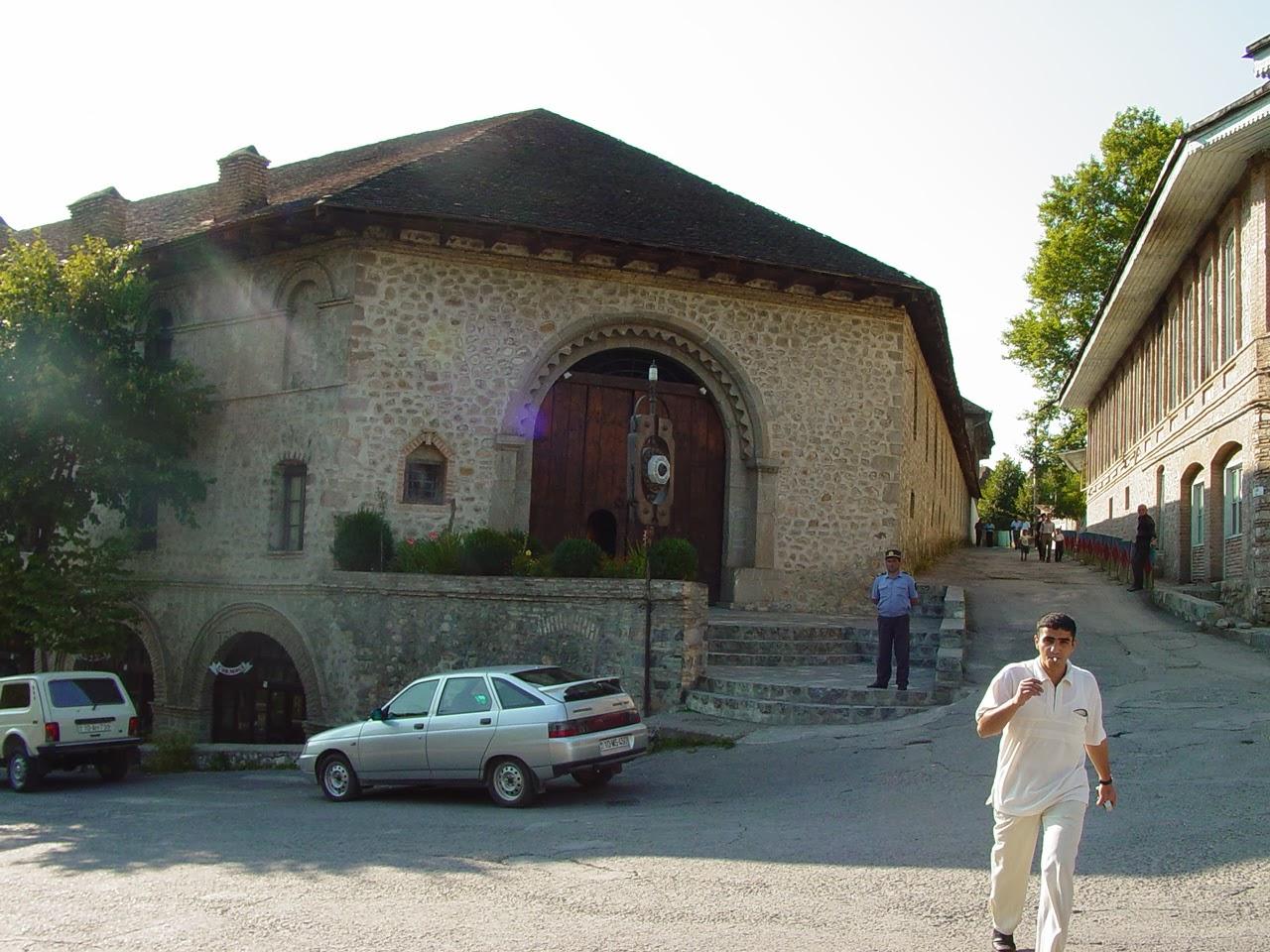 Awesome Yukhari Caravanserai In Sheki Town Azerbaijan