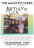The Wave Pictures play Artistic Vice by Daniel Johnston + Violet Woods