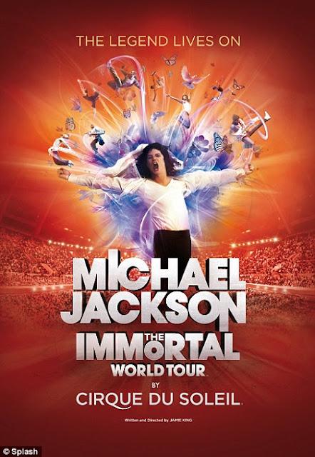 MJ - EN CATALUNYA: Michael Jackson, The Immortal World Tour