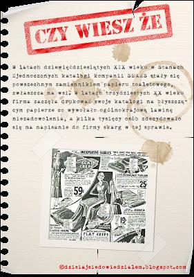 katalog sears papier toaletowy