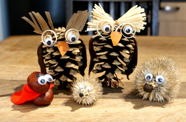 Lightly Enchanted Autumn Critter Craft
