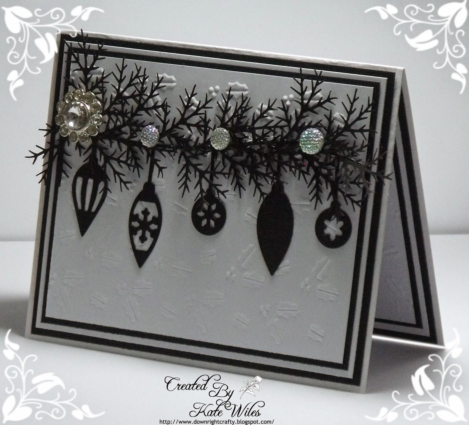 christmas cards using vellum