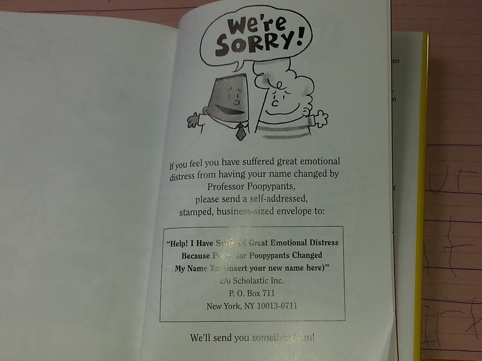 How to write to dav pilkey