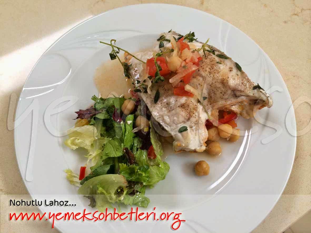 lahoz balığı nasıl pişirilir, etyemekleri, farkli tarifler, balik tarifleri, farkli balik tarifleri, denizden mutfak hikayeleri, nohutlu yemekler, nohutlu lahoz balığı, yemek bloğu, yemeksohbetleri, yağmur ipar