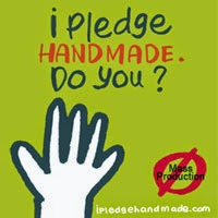 I Pledge Handmade...