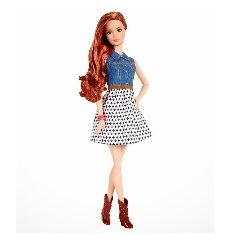 Barbie Fashionistas Balada Ruiva - 2015