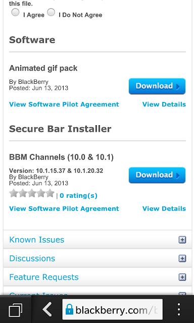 """BBM Channels se a actualizado para BlackBerry 10 en BlackBerry Beta Zone. Se trata de la versión 10.1.15.37 y 10.1.20.32. En esta nueva versión se han corregido algunos errores y agregados nuevas características. Las nuevas características incluyen: Búsqueda de Canales – Dentro de la pestaña """"Buscar canales"""" en la BlackBerry 10 y en la pestaña """"Canal Nuevo"""" en BBOS, los usuarios pueden buscar y descubrir nuevos canales. Texto activo para el Canal ID de Dentro BBOS (5, 6 y 7) – Cada vez que un ID de canal BBM se observa en BBOS, los usuarios pueden seleccionar el ID de"""