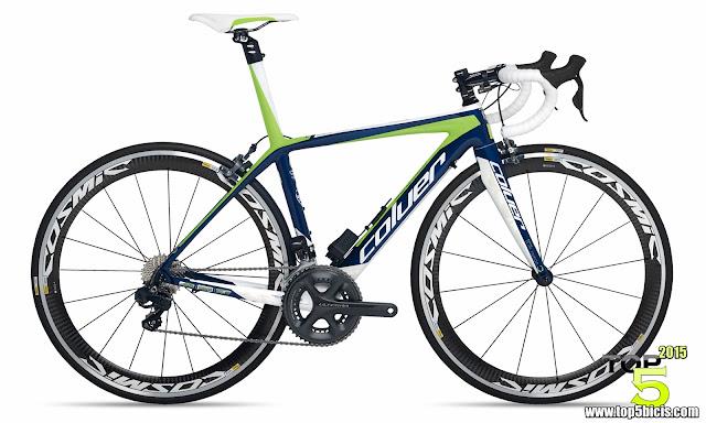 Coluer TOP 40 CHRONO, buena bici con buenos componentes
