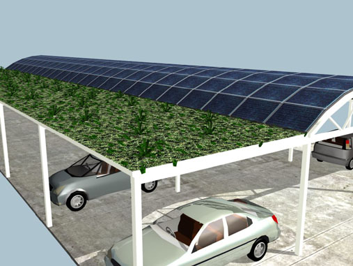 It is better to have a covered parking area. So install the solar panels and get the shade. & 7 Types of Solar Panel Mounting Systems for Homes | Renewable Energy