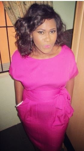 uche jombo pregnant picture