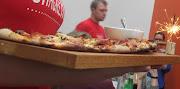 Prima Pizza Natale, ASK's festive special'featuring tomato, mozzarella, .