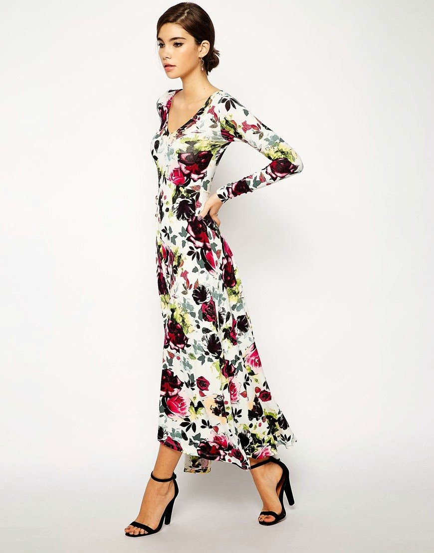 Modest floral maxi dress with sleeves | Shop Mode-sty #nolayering tznius tzniut jewish orthodox muslim islamic pentecostal mormon lds evangelical christian apostolic mission clothes Jerusalem trip hijab fashion modest muslimah hijabista