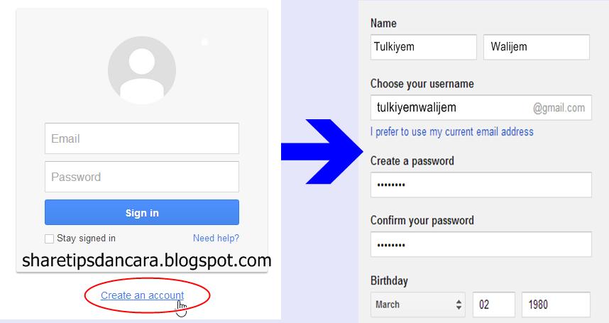 Cara Lengkap Membuat Email Google 1