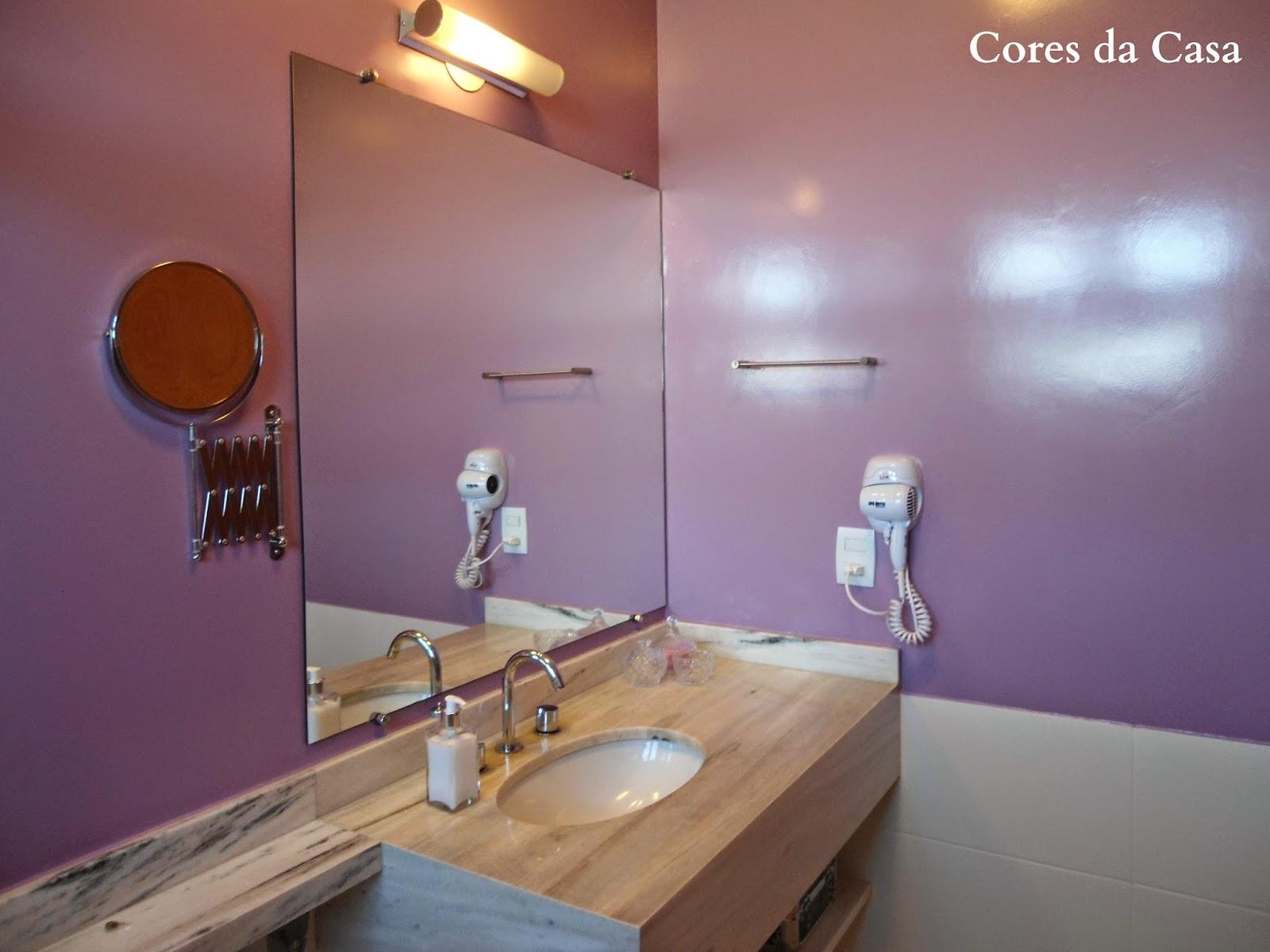 #996D32 Decoração: Banheiro Renovado com Pintura Epóxi Cores da Casa 1600x1200 px Banheiro Tinta Epoxi 1701
