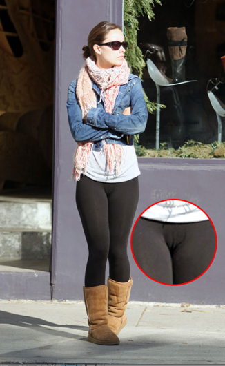 Pretty Little Things : Leggings are NOT pants...