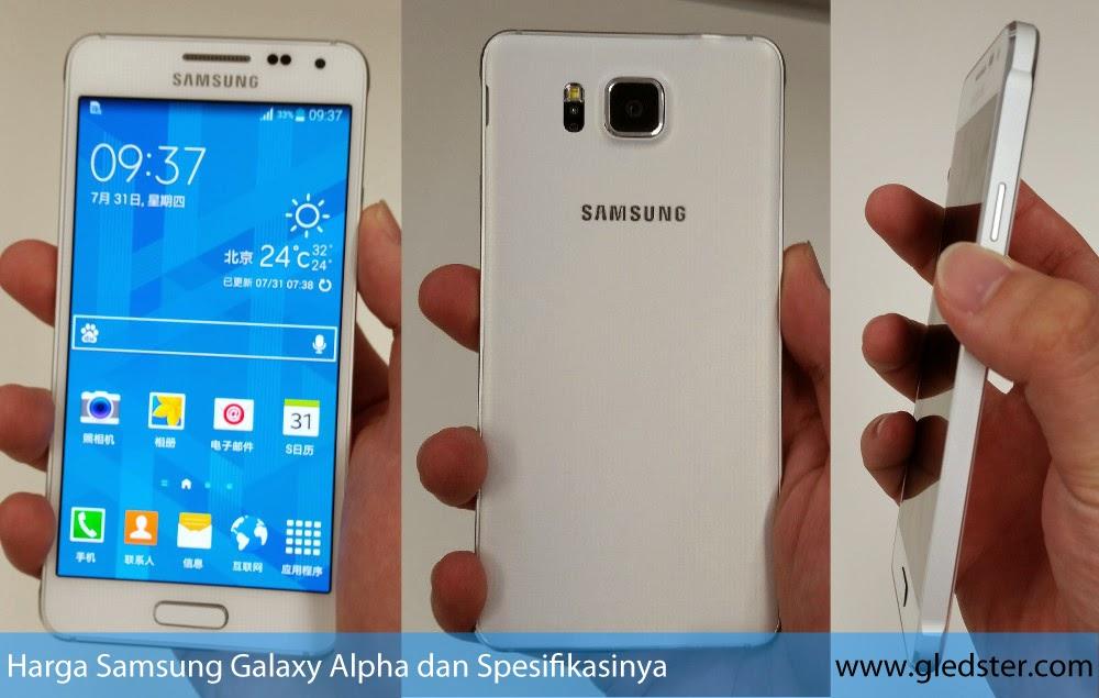 Harga Samsung Galaxy Alpha dan Spesifikasinya