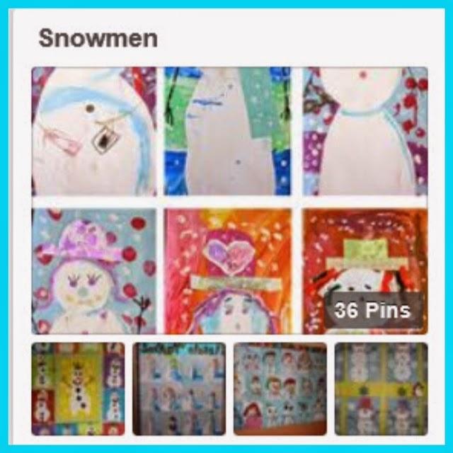 http://www.pinterest.com/thebeezyteacher/snowmen/