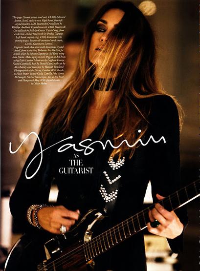 Yasmin Le Bon Duran Duran Girl Panic
