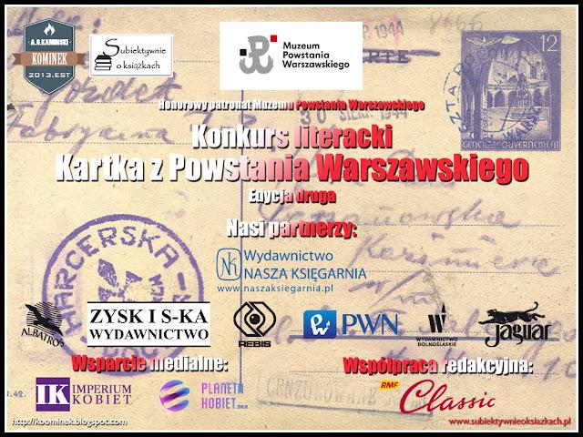 Kartka z Powstania Warszawskiego - Wyniki!