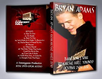 Bare Bones Tour Bryan Adams Setlist