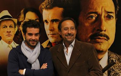Protagonistas de la película Atraco.