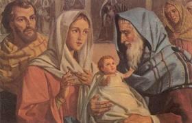 Yesus Dipersembahkan dalam Bait Allah