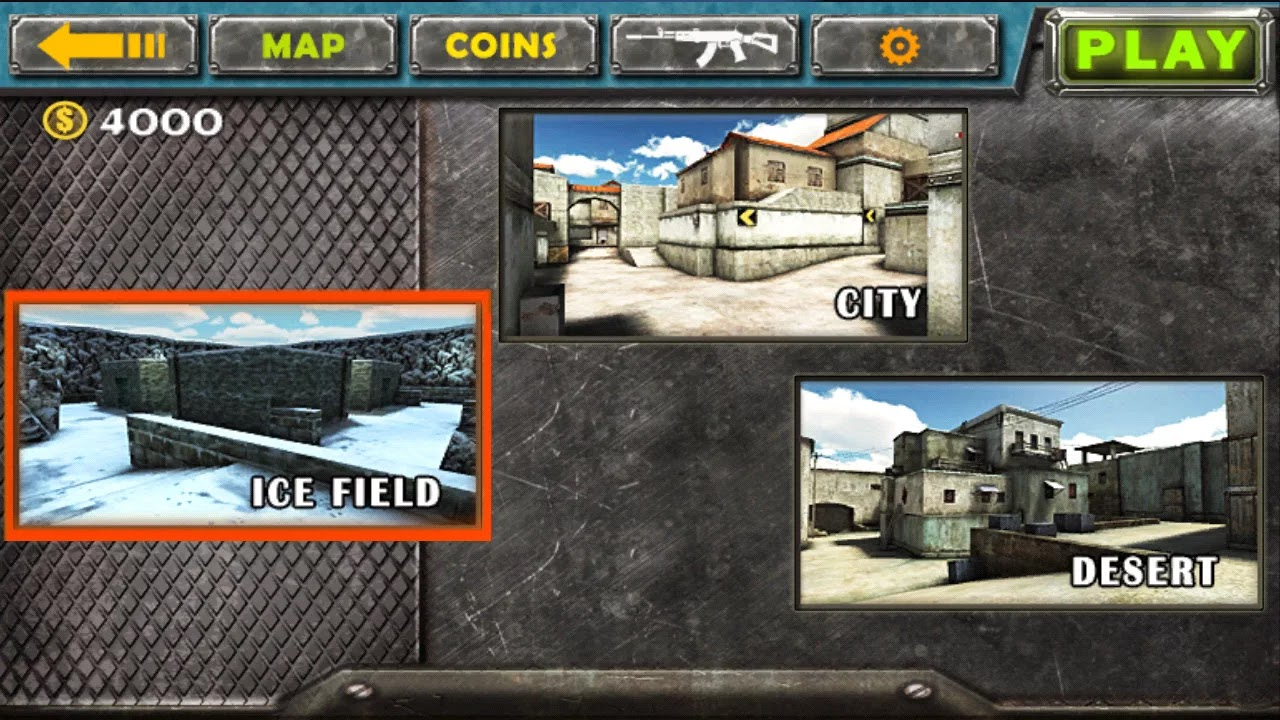 Android Gun Strike 3D Apk resimi 2