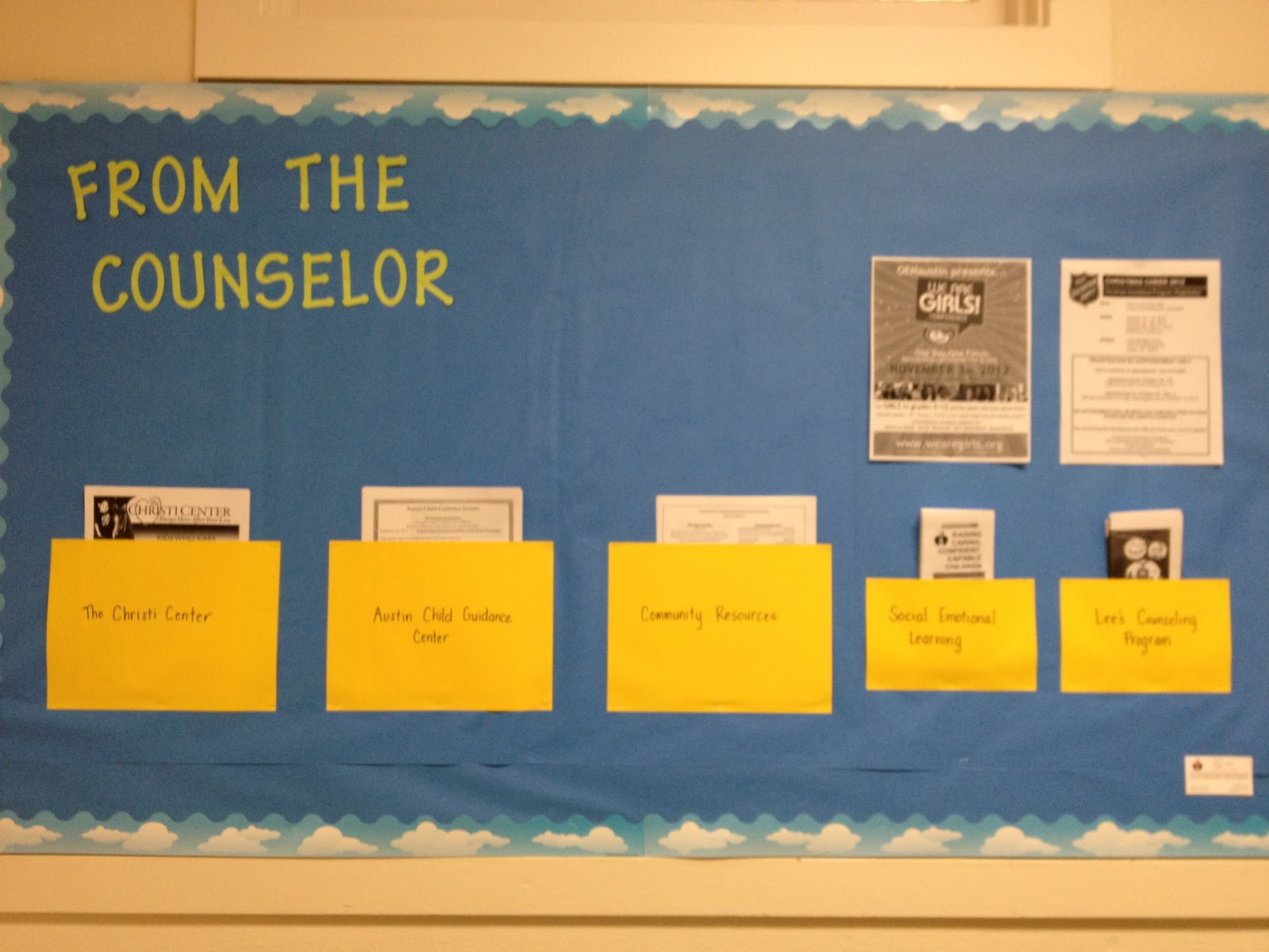 High School Counselor Bulletin Board Ideas Ms. sepp's counselor corner ...