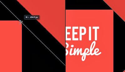efek bayangan panjang, tutorial photoshop, photoshop cs6, efek teks, flat design, belajar photoshop, pemula,