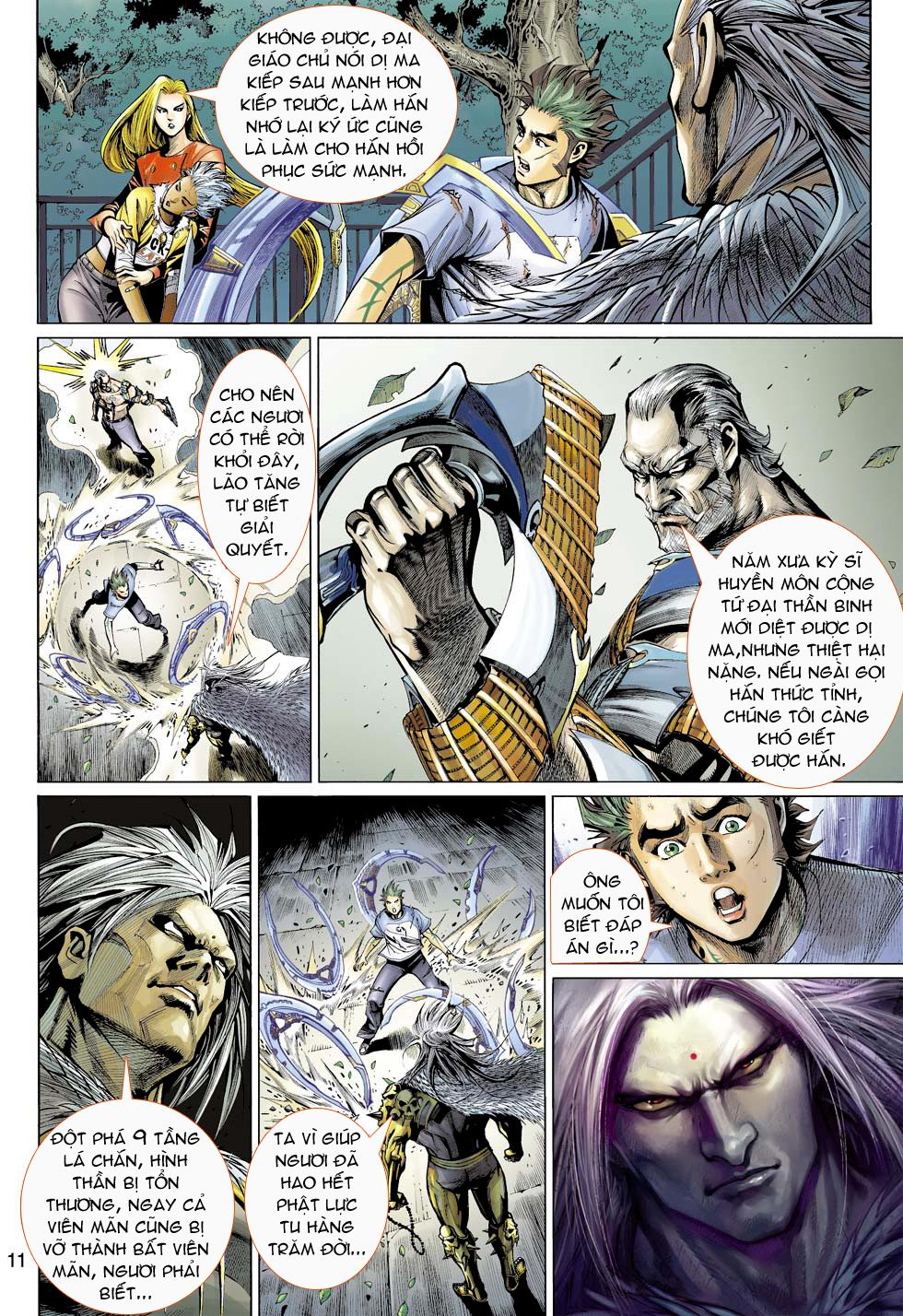 Thần Binh 4 chap 16 - Trang 11