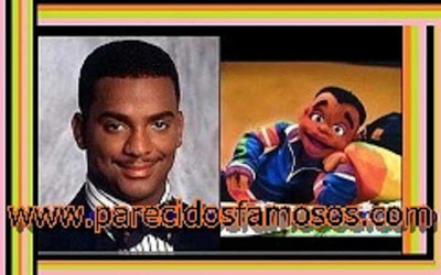 Carlton Banks con Cousin Skeeter
