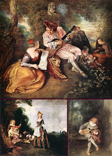 Картины французского живописца Жан Антуан Ватто