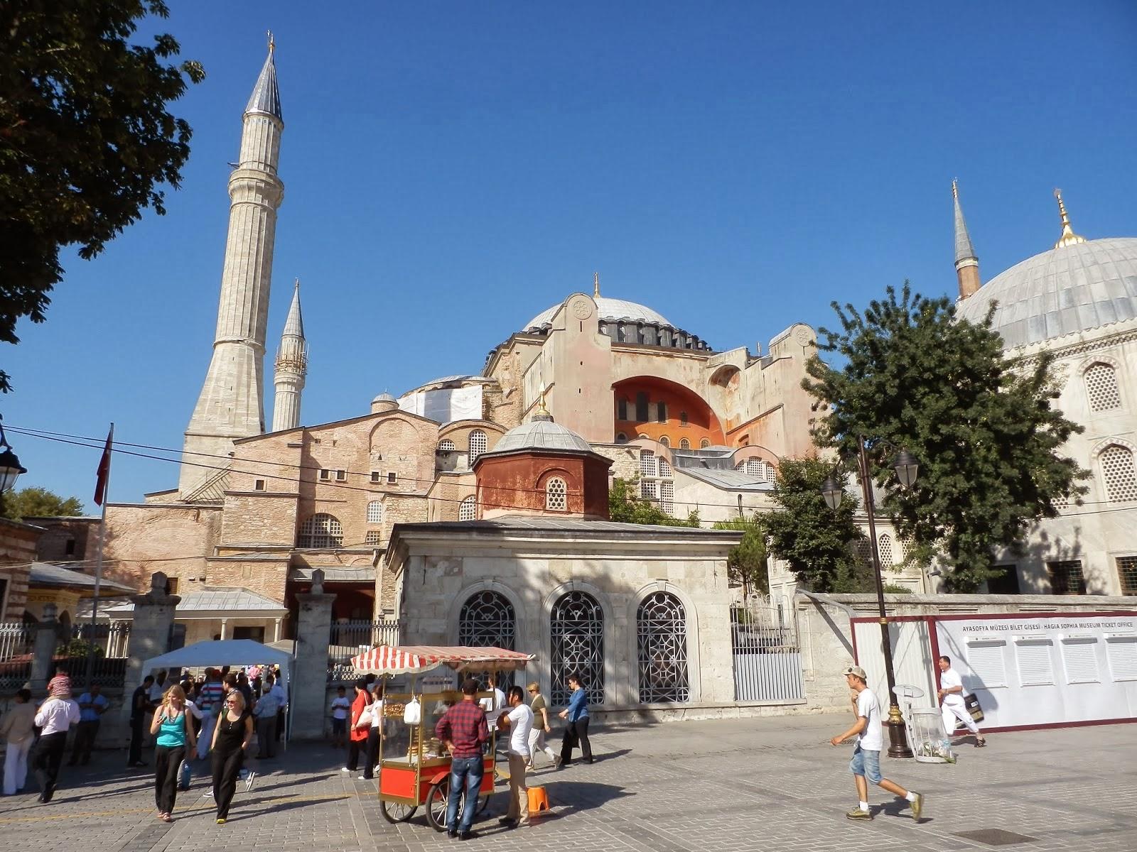 Христианский православный Собор Святой Софии Премудрости Божией, Святая София Константинопольская, Ая-Софья, Стамбул, Турция