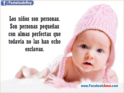 Imagenes con frases de niños - Imágenes Bonitas para Facebook Amor y