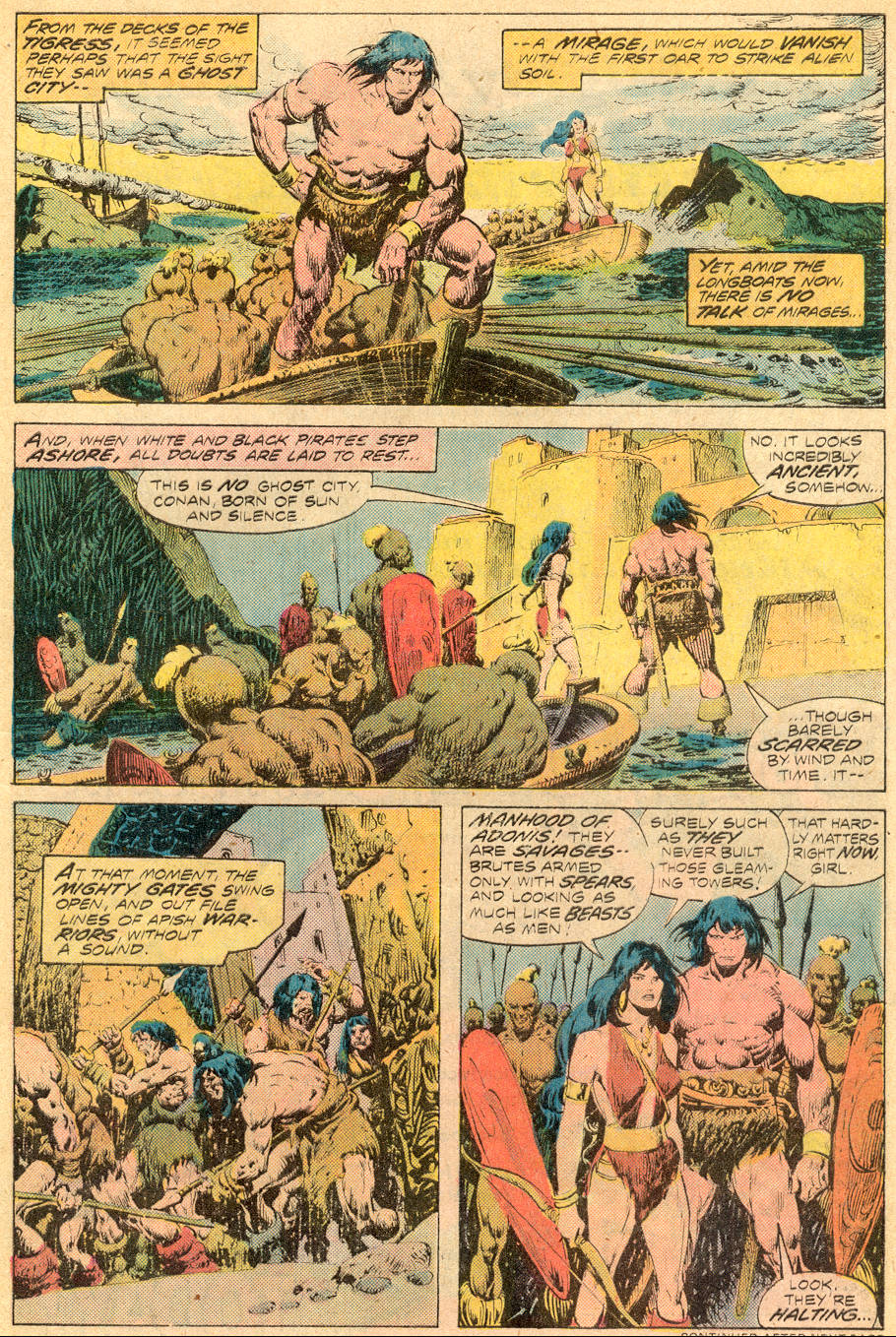 Conan the Barbarian (1970) Issue #70 #82 - English 6