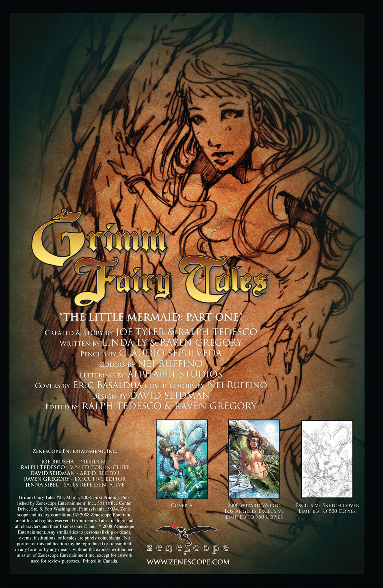 Grimm Fairy Tales (2005) Issue #25 #28 - English 2
