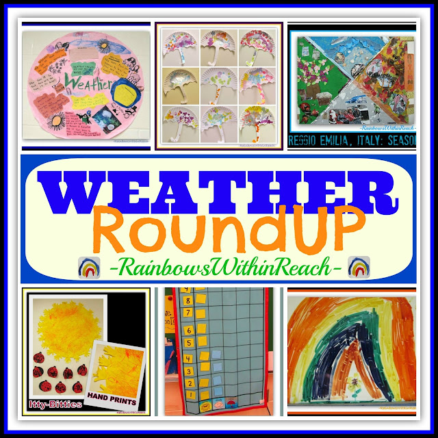 Weather + Season Project RoundUP for Early Elementary at RainbowsWithinReach