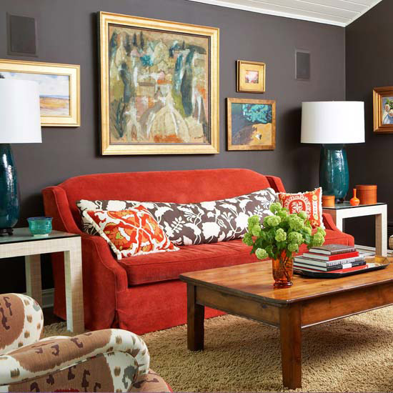 New Home Interior Design: New Home Interior Design: Warm Color Schemes