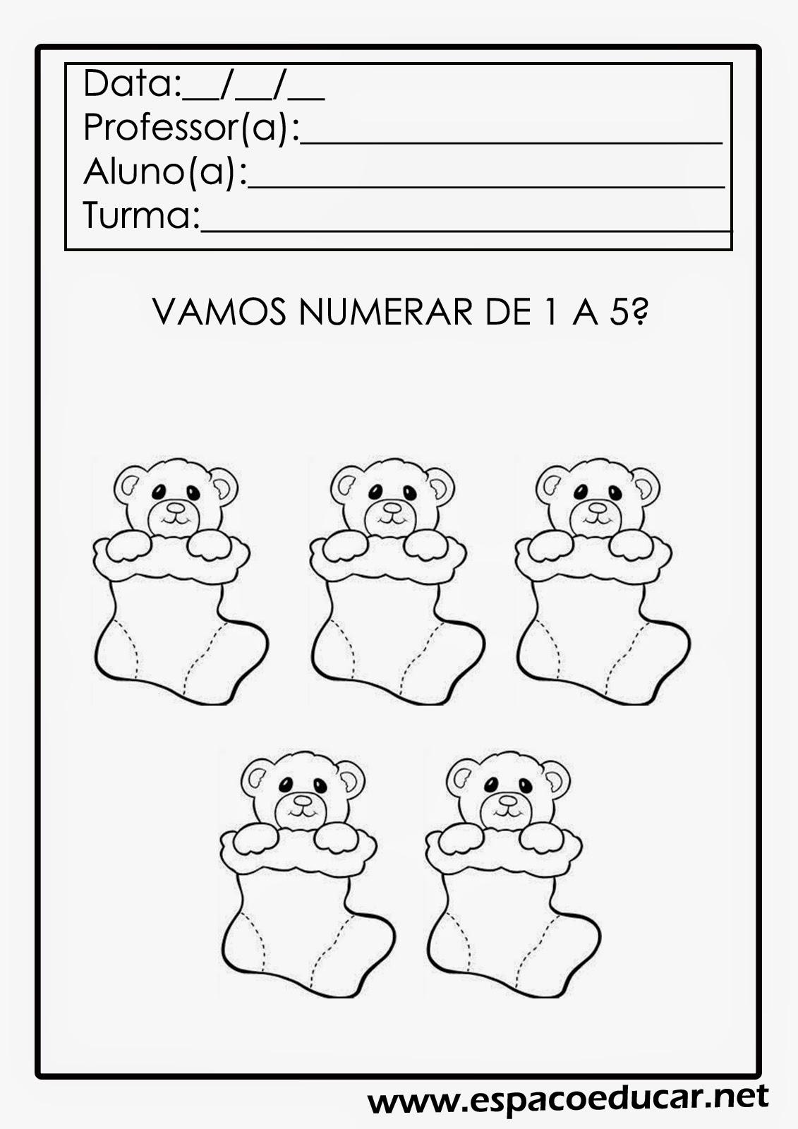Populares ESPAÇO EDUCAR: Atividades de Natal para Educação Infantil LR55