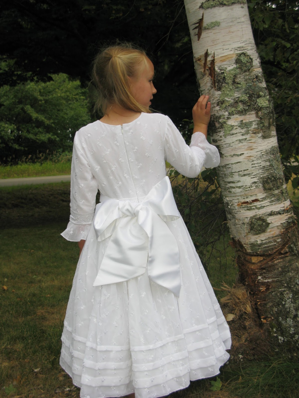 Zelie S Roses Traditional Long Sleeved First Holy