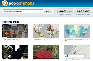 infografías de mapas con Geocommons