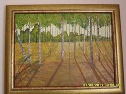 ulje na platnu-umetnik vladisav art bogićević (slikar luna-niš)VLart