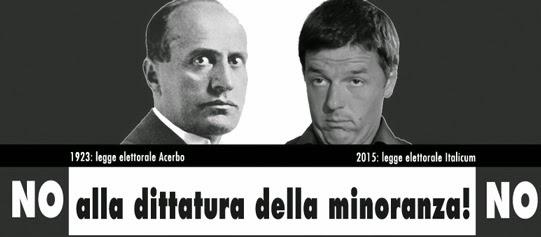 NO ITALICUM - INCONTRO A PERUGIA il 26 MAGGIO