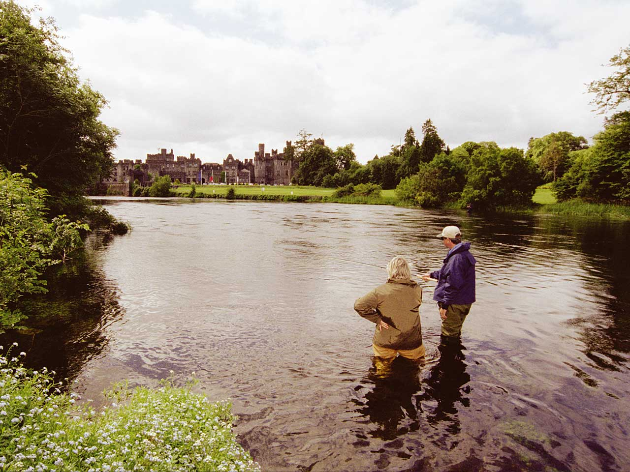 Fishing in ireland foxford fishery river moy foxford for Fishing in ireland